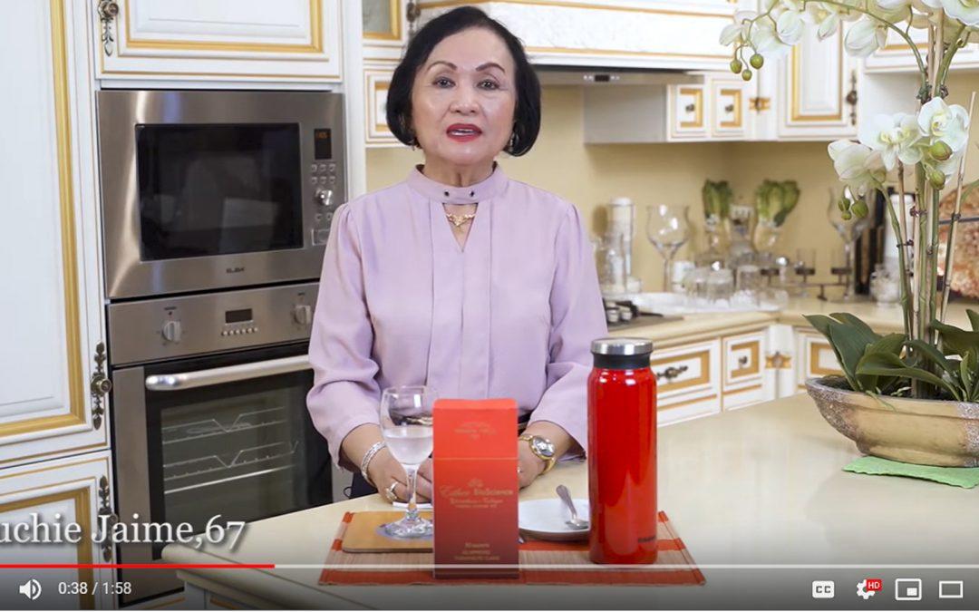 Lueur Lauren Glutathione plus Collagen Drink Madam Luchie Jaime Testimonial