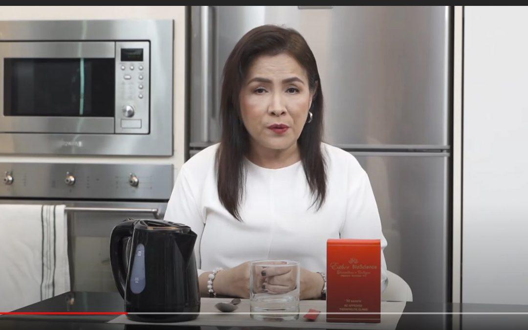 Lueur Lauren Glutathione plus Collagen Drink Miss Jo Arboleda's Testimonial