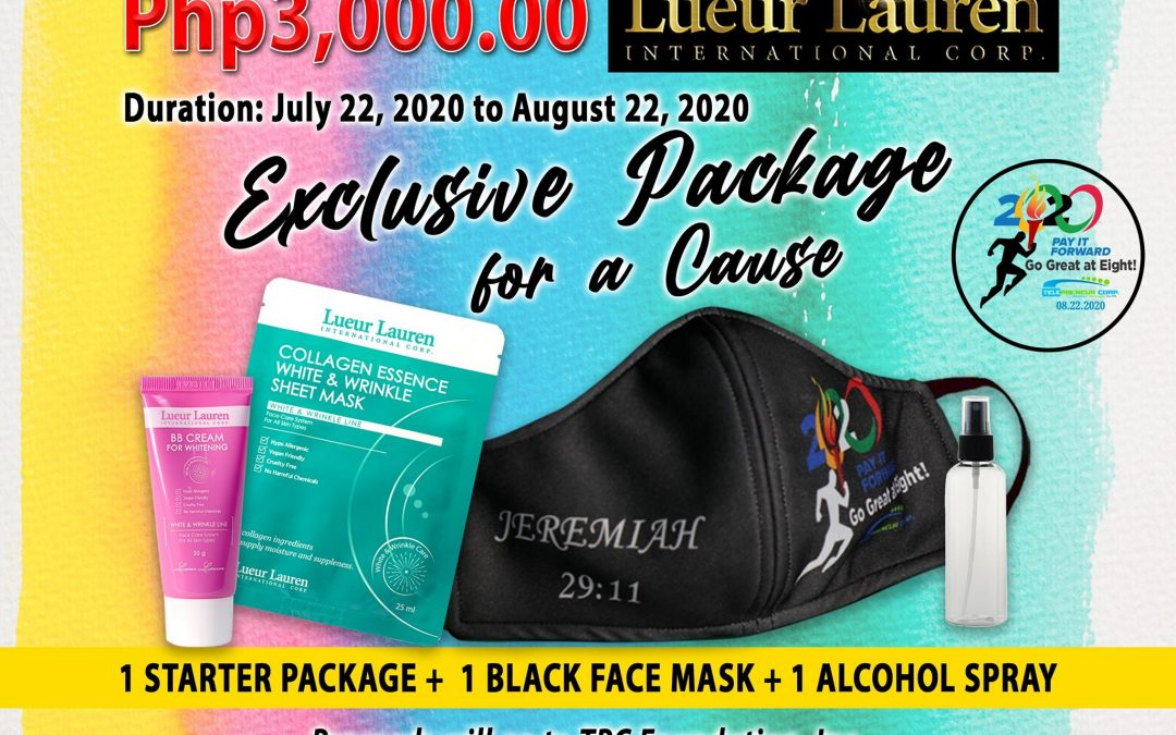 EXCLUSIVE STARTER PACKAGE for  A Cause