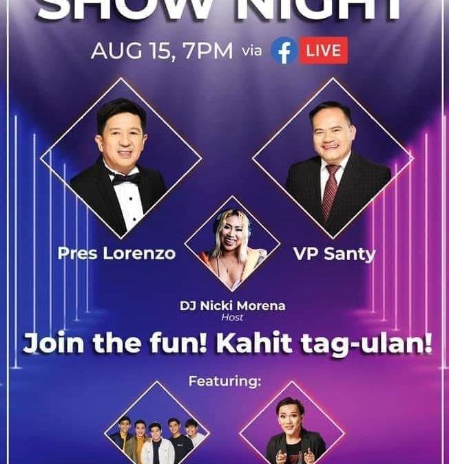TPC SHOW NIGHT Join the fun kahit tag-ulan!