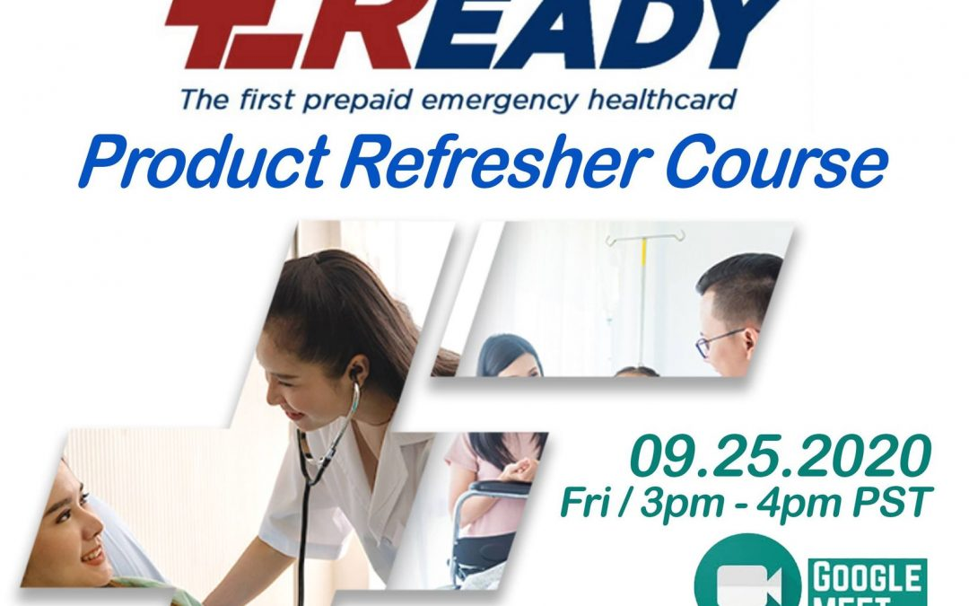 Maxicare E-Ready Product Refresher Course on September 25, 2020