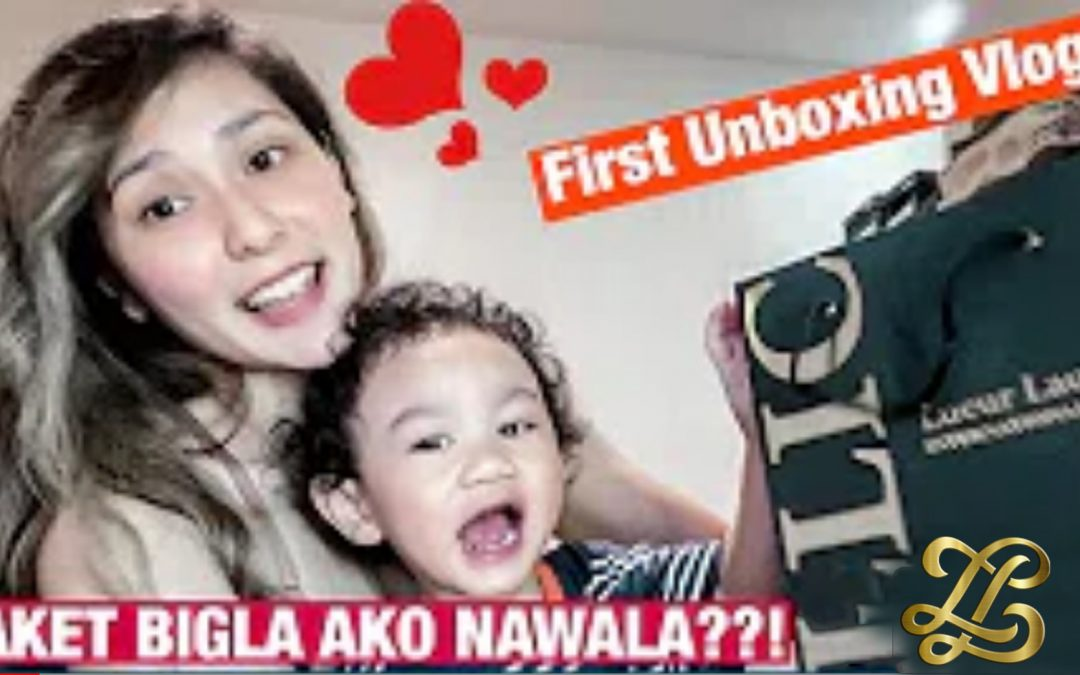 """Product Unboxing of Lueur Lauren's newest endorser, """"Awi Noroña"""""""