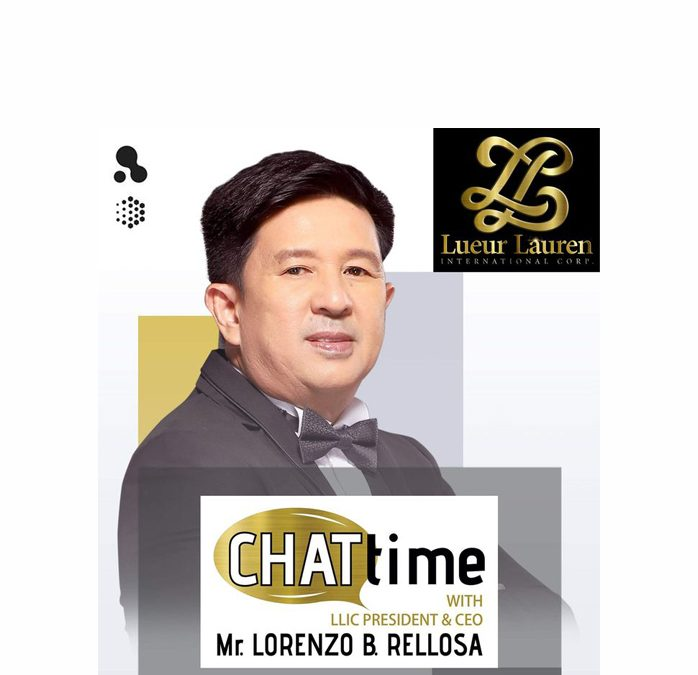 CHATtime with our Loving President and CEO, Mr. Lorenzo B. Rellosa on September 11, 2020 at 6:00pm live via Zoom and Facebook