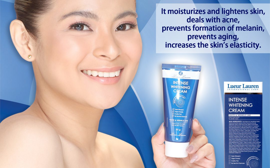 Keep your skin light and moist all day with Lueur Lauren's Intense Whitening Cream