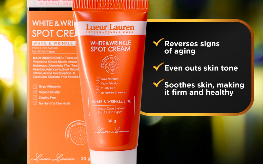 Perfect your skin care routine with your new BFF! Lueur Lauren's anti-aging cream minimizes signs of aging. Get yours today!