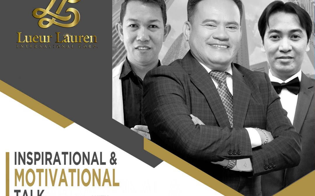"""""""Inspirational & Motivational Talk"""" this Saturday, with Vice President for Sales & Marketing Mr. Sajiron Dayao along with GUV-VP Sales & Marketing Mr. Jhun Pareja,and GUV Director/TPC President's Knight Mr. Jimmy Talampas"""