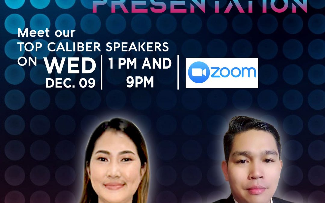 Business Opportunity Presentation on December 9, 2020 with Ms. Jill Reyes and LLIC's Top Sales Performer Mr. Johnmen Tubongbanua