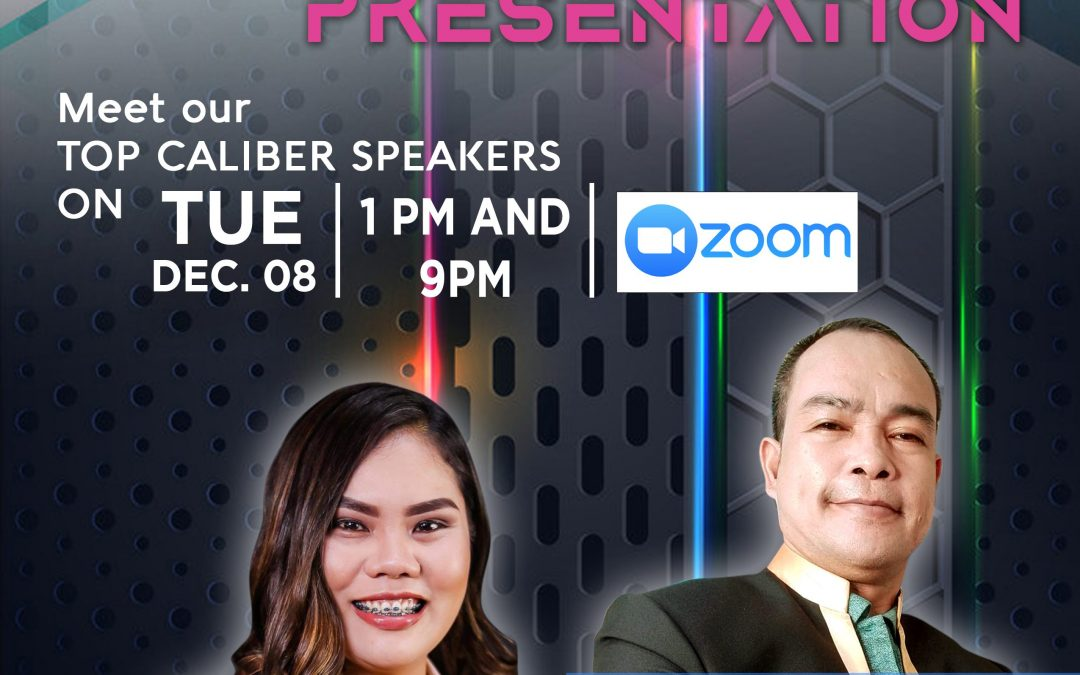 Business Opportunity Presentation on December 8, 2020 with Mr. Hernan Quinones and and LLIC City Stockist/Top LLIC's Elite Performer Ms. Evalyn Mislos