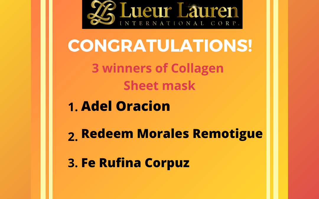 Congratulations to all the winners of our Motivational and Inspirational Talk Question and Answer games Plus the Each one Zoom One Promo E-raffle Draw held last night, Dec 11, 2020.