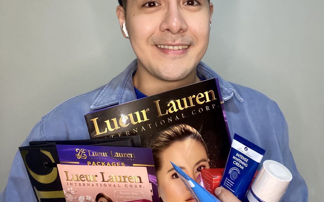 """Introducing to all of you is our LLIC vlogger and endorser, our """"Flying Bae"""", Mr. Mike Quinzon who also happens to be celebrating his birthday today!"""
