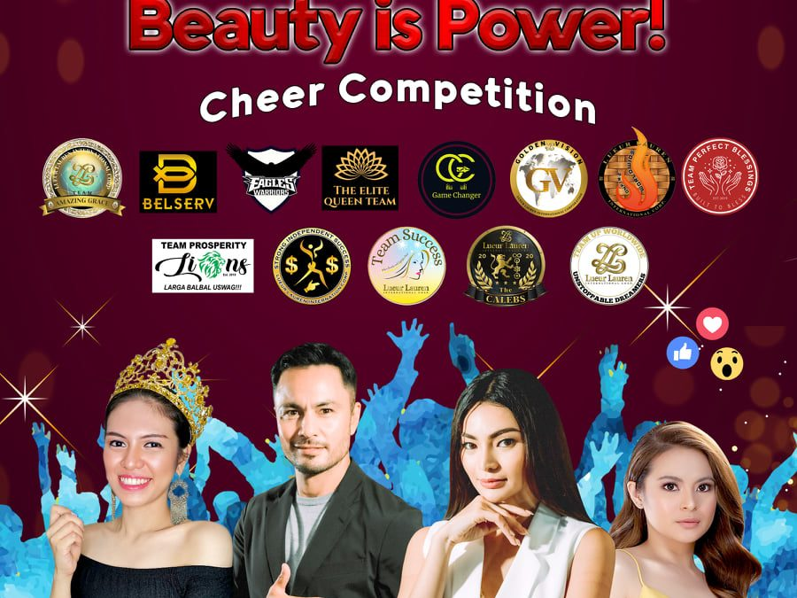Get ready for our Beauty is Power Team Cheer Competition 2021!