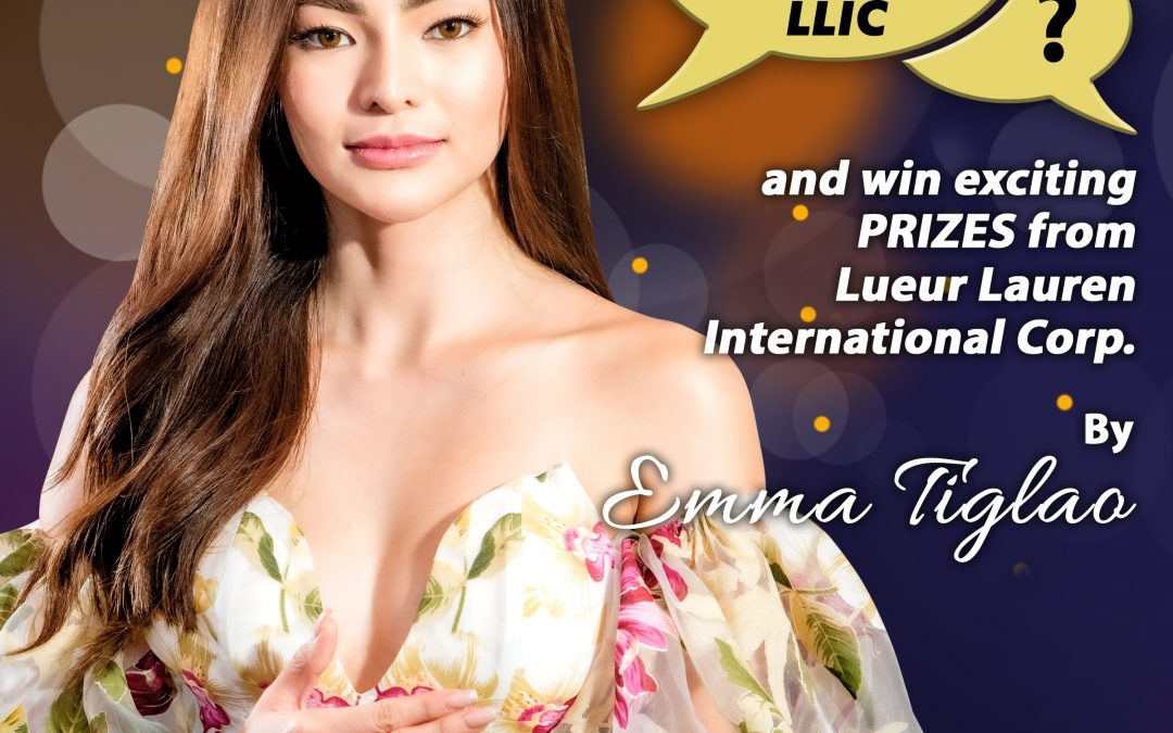 Ask Me Anything About LLIC by Emma Tiglao is now up until February 28, 2021.