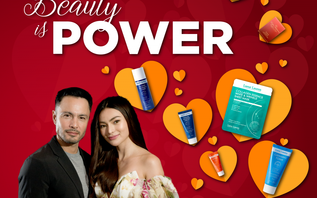 Celebrate love with beauty and power! Happy Valentine's Day, LLIC!