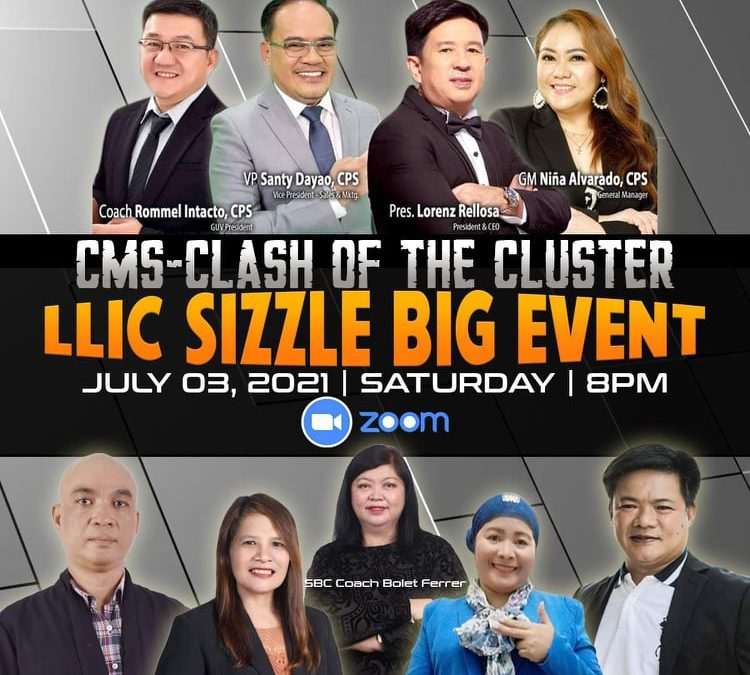 """""""LLIC Sizzle""""! Learn and be inspired from our beloved Daddy Pres Lorenz Rellosa, V.P. Santy Dayao, GM Nina Alvarado and Coach Rommel Intacto!"""