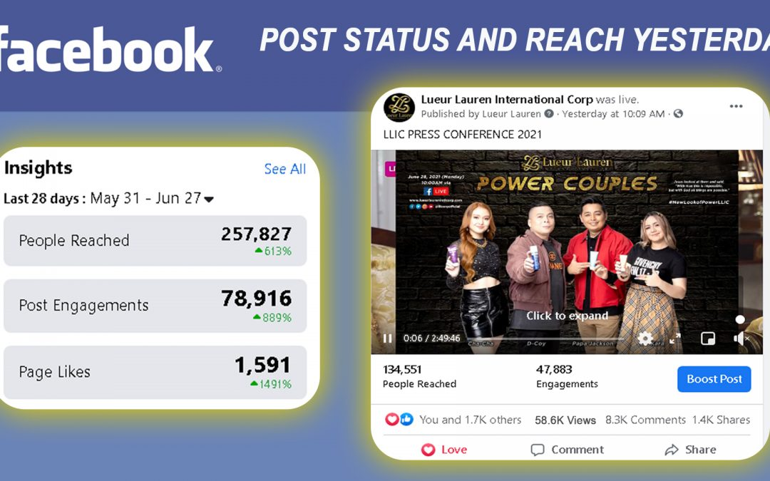 """Our LLIC """"POWER COUPLES""""  Press Conference 2021 made the BIGGEST and HIGHEST reach we had for LLIC and our #KarJack was top 1 trending on Twitter yesterday!"""