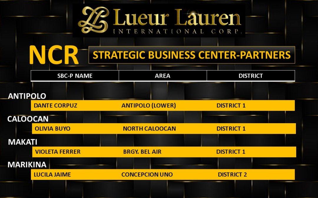 LLIC Strategic Business Center-Partners (SBC-Ps)